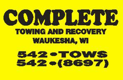 Complete Towing & Recovery - Waukesha, WI