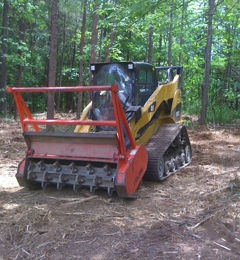 Carolina Mulching Co - High Point, NC. Fastest and Cheapest way to clear land