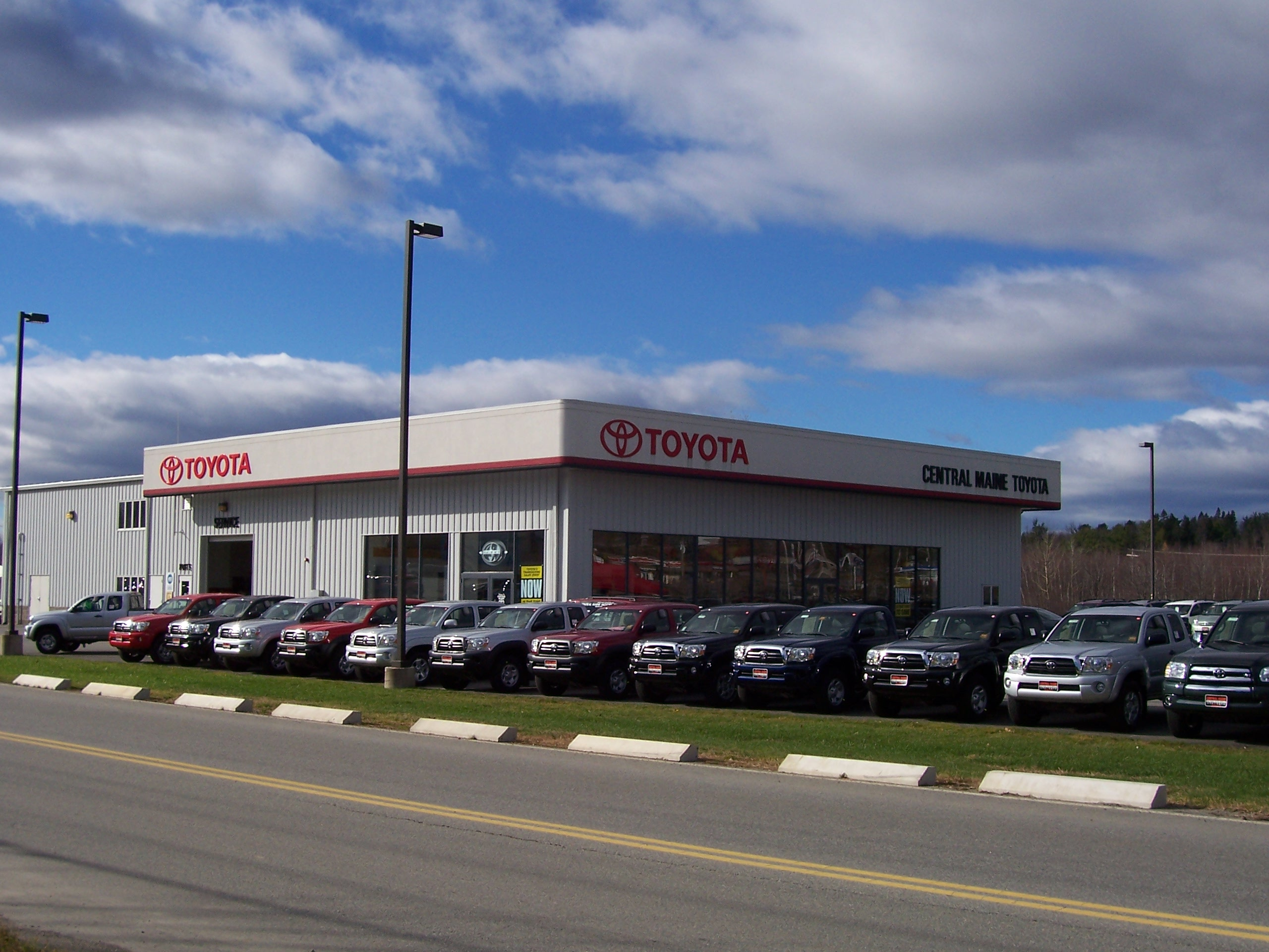 Toyota Dealer Near Me >> Central Maine Toyota 15 Airport Rd Waterville Me 04901 Yp Com