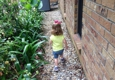 Taylorscapes - Forest Hill, LA. Drainage can serve as a double! Best use ever! Enjoy your garden, by TaylorScapes & Family!