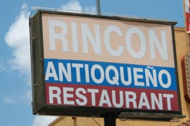 Rincon Antioqueno Restaurant