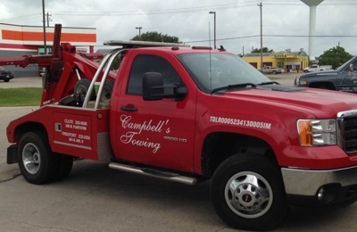 Campbell's Towing - Freeport, TX