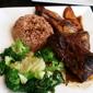 Sattdown Jamaican Grill - Studio City, CA. Jerk chicken meal :)