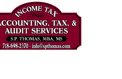 Accounting, Tax, & Audit Services Shibu P. Thomas, MBA, MS - Staten Island, NY