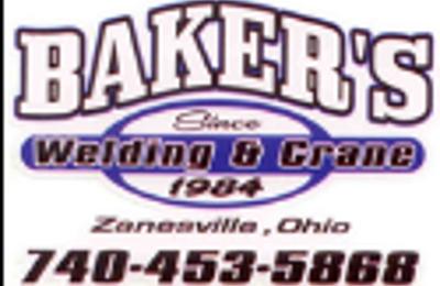 Baker's Welding And Crane Service - Zanesville, OH