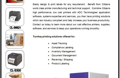 Cheap Barcodes - ADC Technologies - Irvine, CA