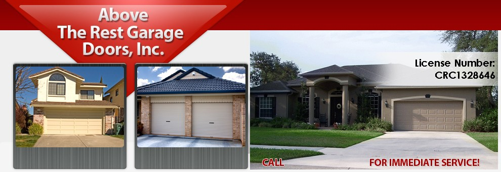 Above the rest doors 2684 reagan ln kissimmee fl 34744 yp logo servicesproducts sales openers garage doors parts for most makes of doors repair and service of all makes and models of garage doors and solutioingenieria Image collections