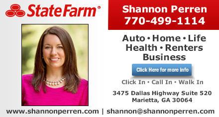 Shannon Perren State Farm Insurance Agent 3475 Dallas Highway Suite 520 Marietta Ga 30064 Yp Com