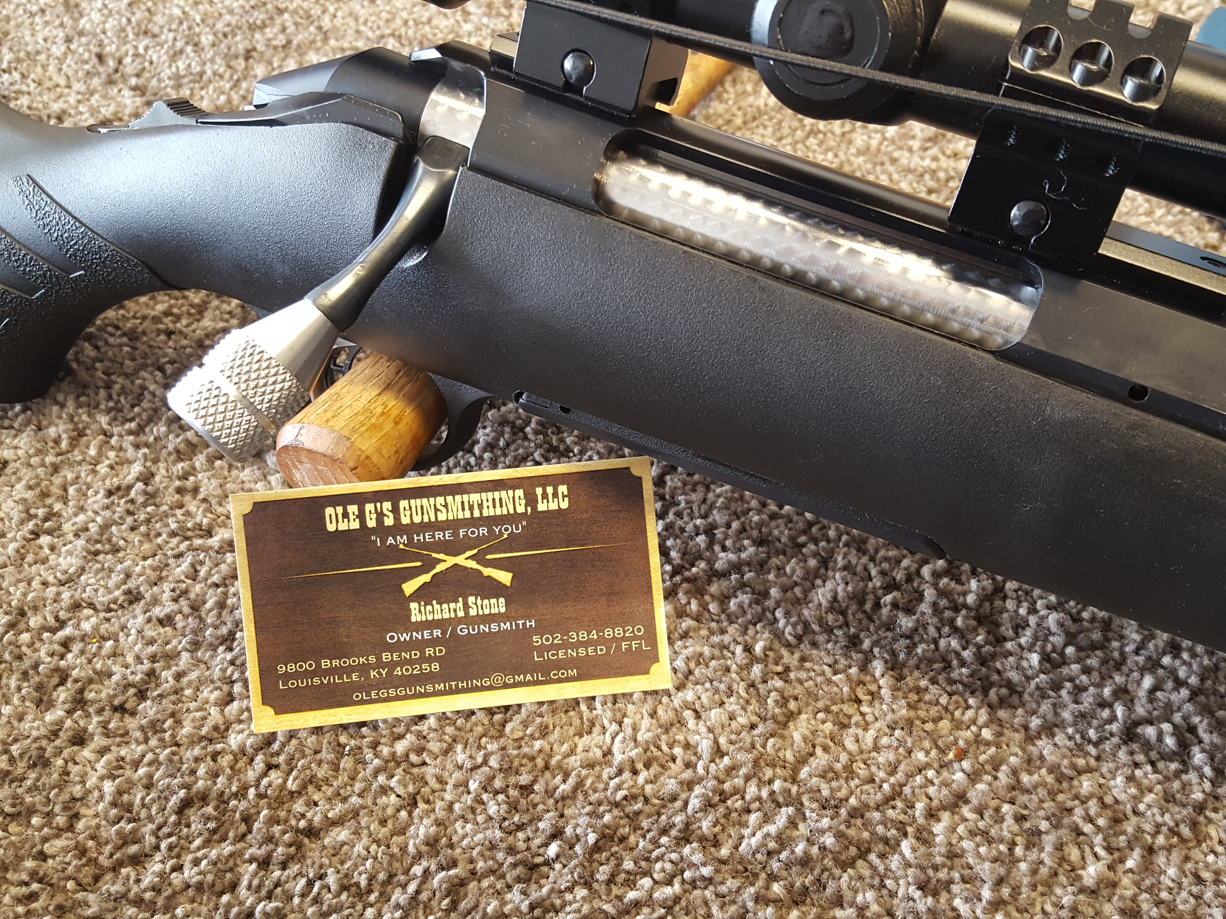 Ole G\'s Gunsmithing 9800 Brooks Bend RD, Louisville, KY 40258 - YP.com