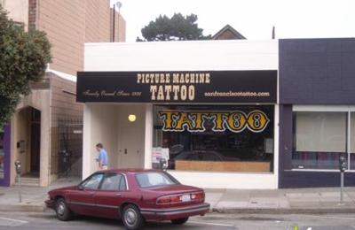 Picture Machine Tattoo - San Francisco, CA