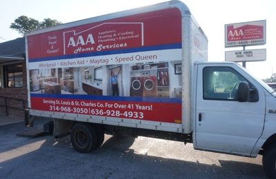 AAA Home Services - O Fallon, MO. Appliance delivery truck