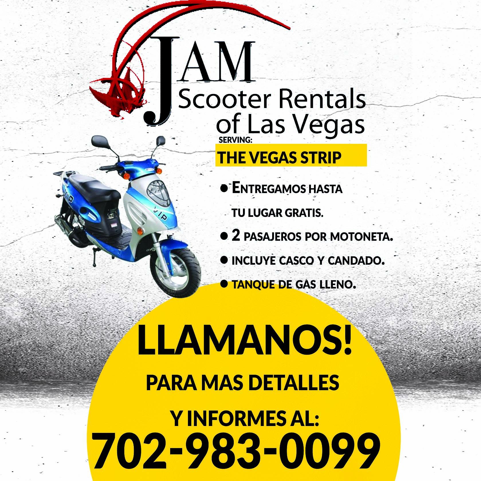 Jam Scooter Rental Of Las Vegas 3105 Westwood Dr Las Vegas Nv