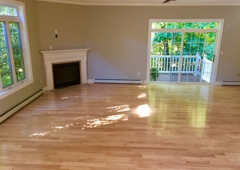 Silver Brothers Painting & Remodeling, LLC - Newmarket, NH. New prefinished flooring installed