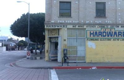 J C Hardware 1426 W Pico Blvd Los Angeles Ca 90015 Yp Com