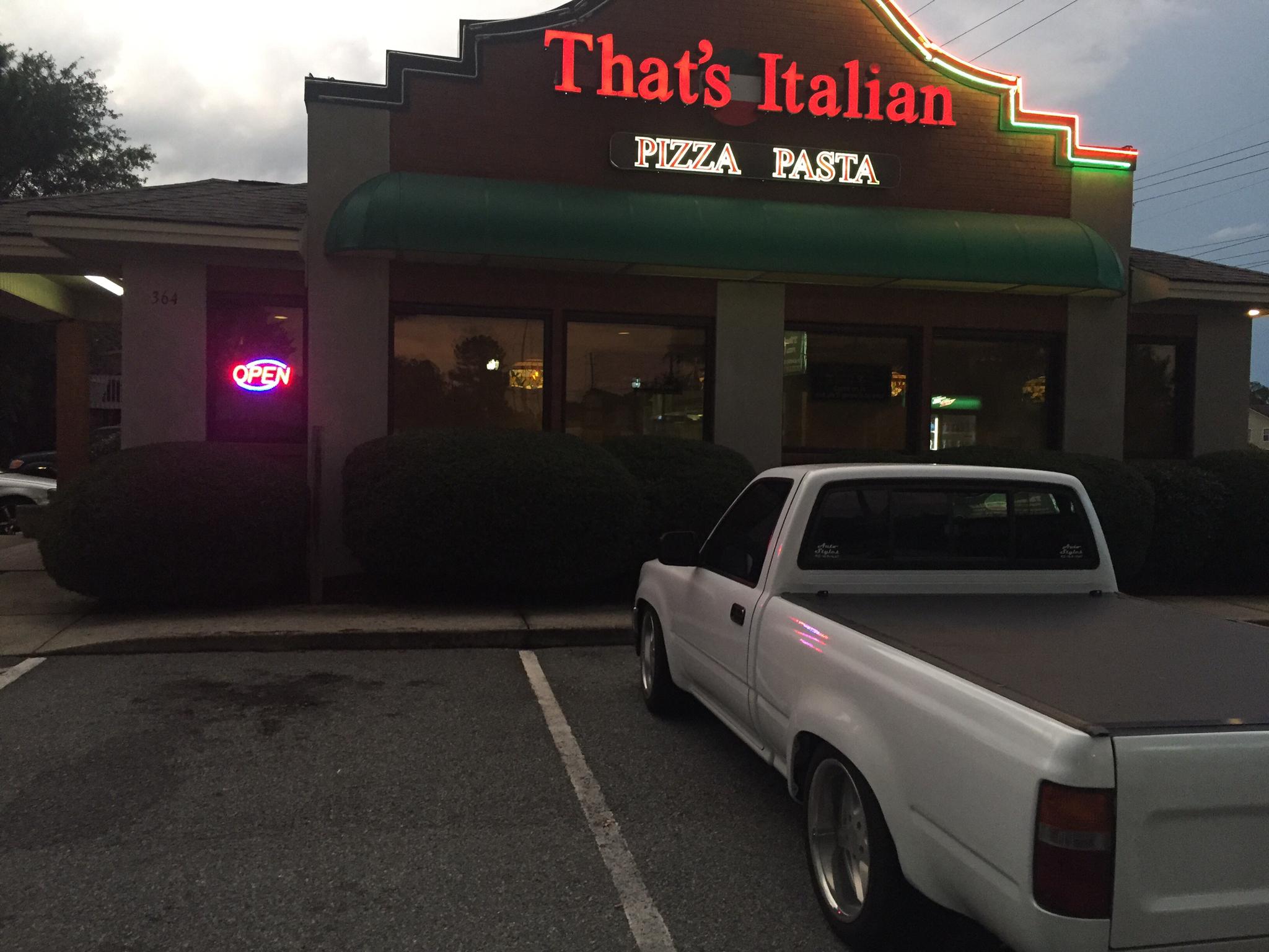 Thats italian hinesville ga