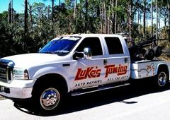 Luke's Towing & Auto Repairs. WWW.LUKESTOWING.COM