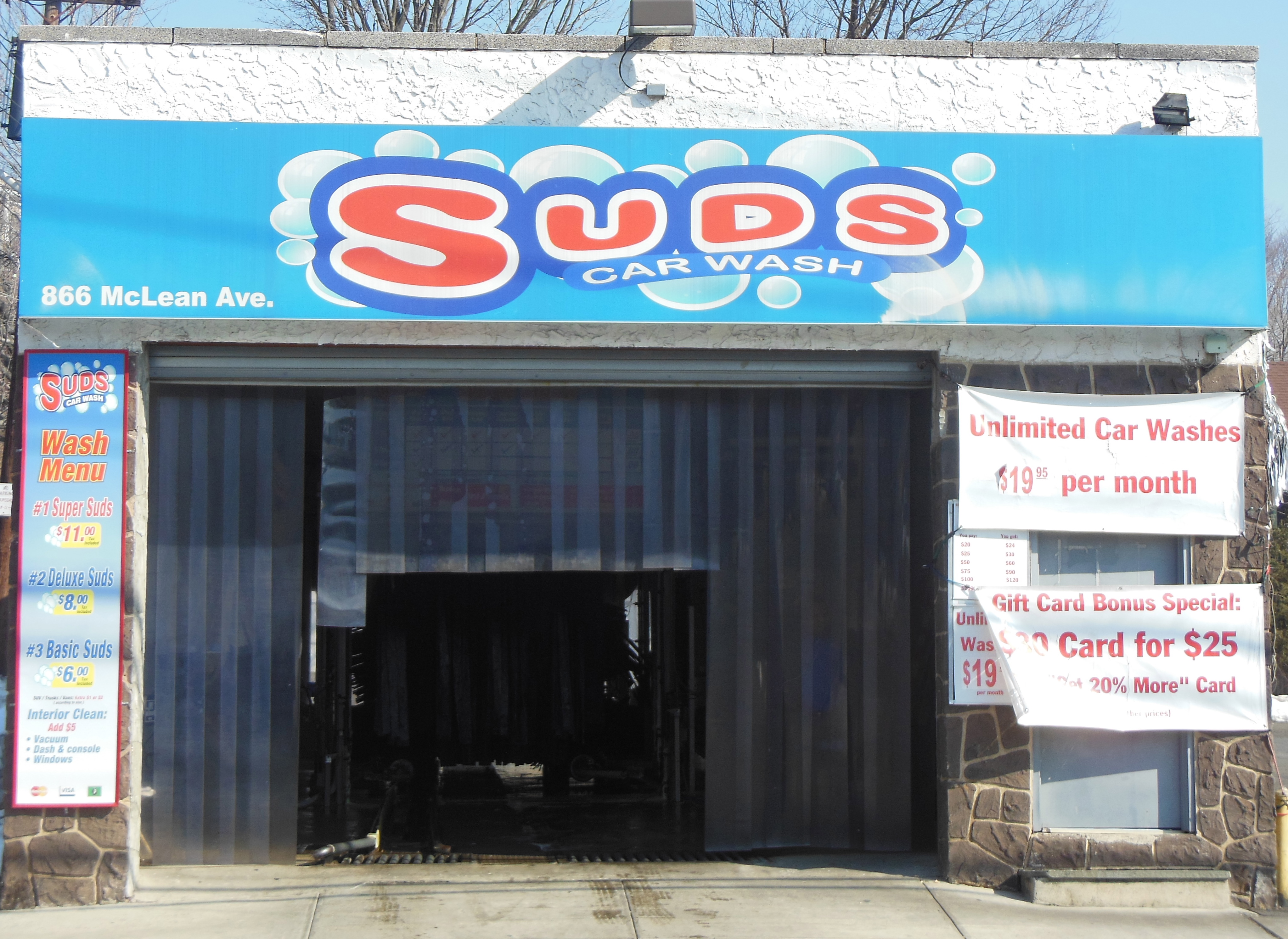 Suds Car Wash 866 Mclean Ave Yonkers Ny 10704 Yp Com