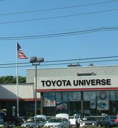 toyota universe 1485 us highway 46 little falls nj 07424. Black Bedroom Furniture Sets. Home Design Ideas