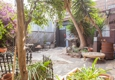 City of Paris Studios - Emeryville, CA. Shared Garden Courtyard, access out back of City of Paris Gallery.