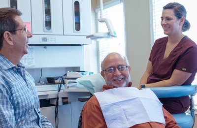 The Silberman Dental Group - Waldorf, MD. Waldorf dentist The Silberman Dental Group dentist working with patient