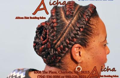 Aicha African Hair Braiding 6308 The Plz Charlotte Nc 28215 Ypcom