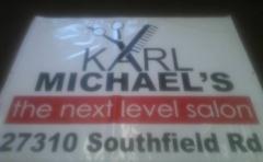 Karl Reed at Karl Michael's Salon