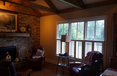Absolute Sun block - Marietta, GA. Silver Reflective 15% film interior view
