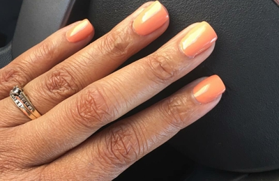 """Five Star Spa & Nails - Clinton, MS. My favorite color """"crawfishin for a compliment"""" OPI New Orleans Collection. Of course nail done by Amy."""