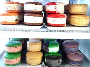 Ice cream sandwiches at MILK in Los Angeles