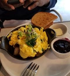 Cafe Osage - Saint Louis, MO. Osage scramble