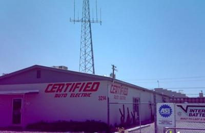 Certified Auto Electric Inc Tucson Az