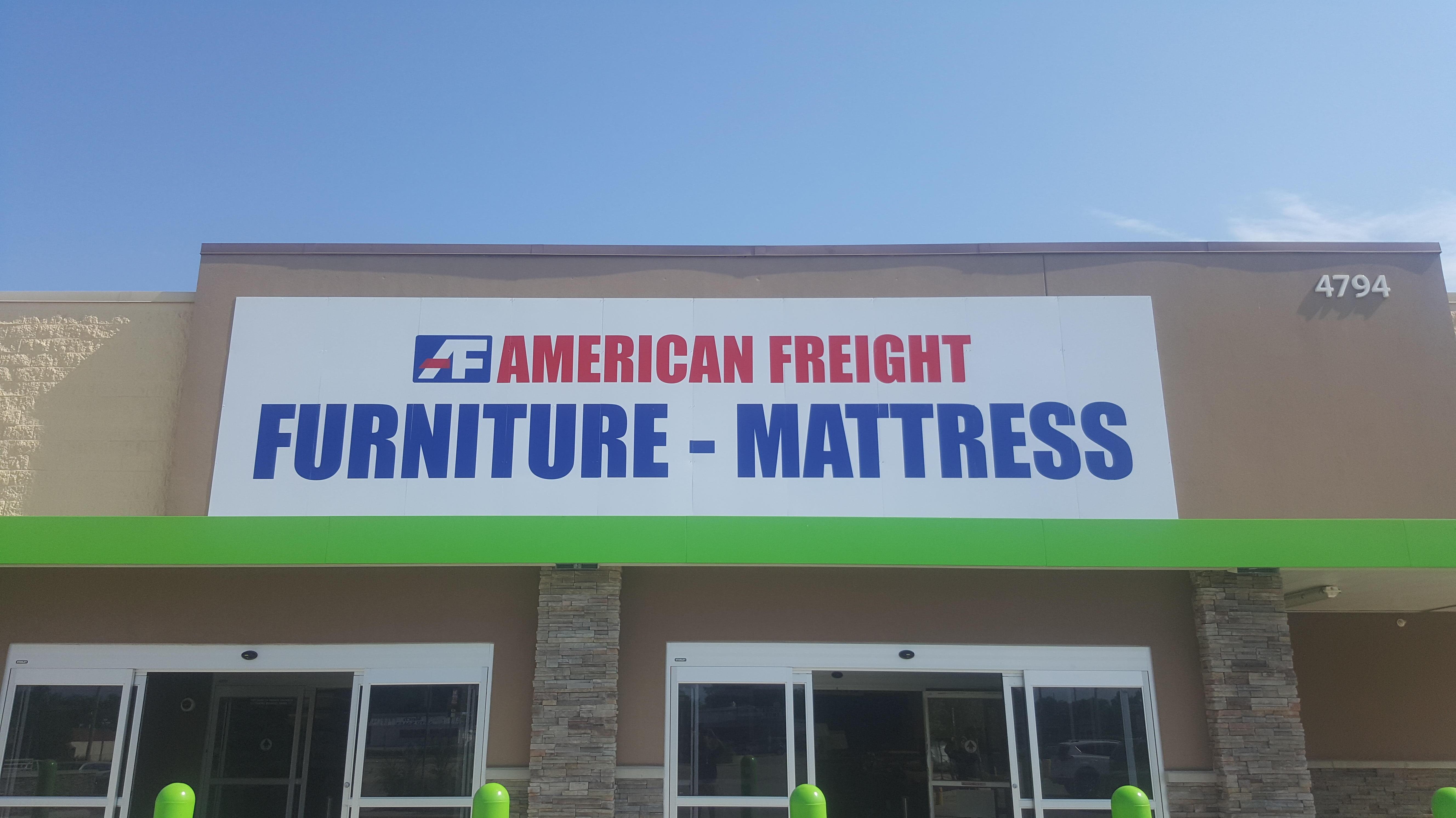 american freight furniture and mattress 4794 e 13th st n wichita ks 67208. Black Bedroom Furniture Sets. Home Design Ideas