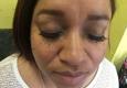 Christy E inside Hair Radiant Salon - Dallas, TX. Mink lashes