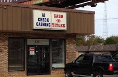 A-1 Check Cashing Inc Of North Jackson - Jackson, MS