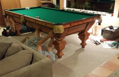 Ez Billiards Pool Tables Service Movers Sales Soledad Canyon - Pool table sales and service