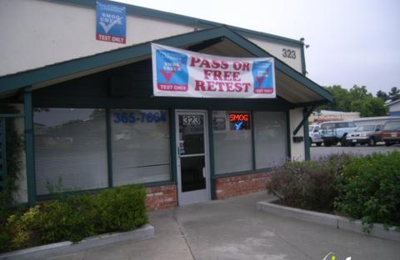 Redwood City Smog Test Only - Redwood City, CA