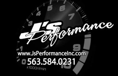 J's Performance, Inc. - Dubuque, IA