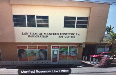 Law Firm Of Manfred Rosenow - Miami, FL
