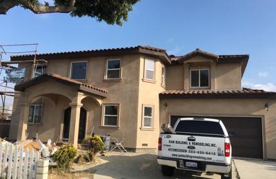 Ram Building Remodeling Inc - Los Angeles, CA. Second floor addition almost complete in Gardena ca,