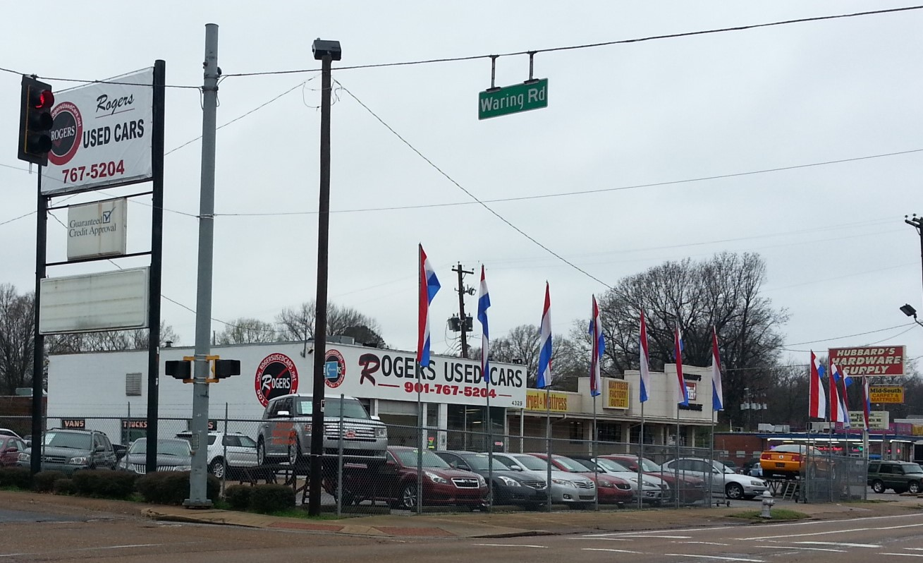 Rogers Used Cars 4329 Summer Ave Memphis Tn 38122 Yp Com