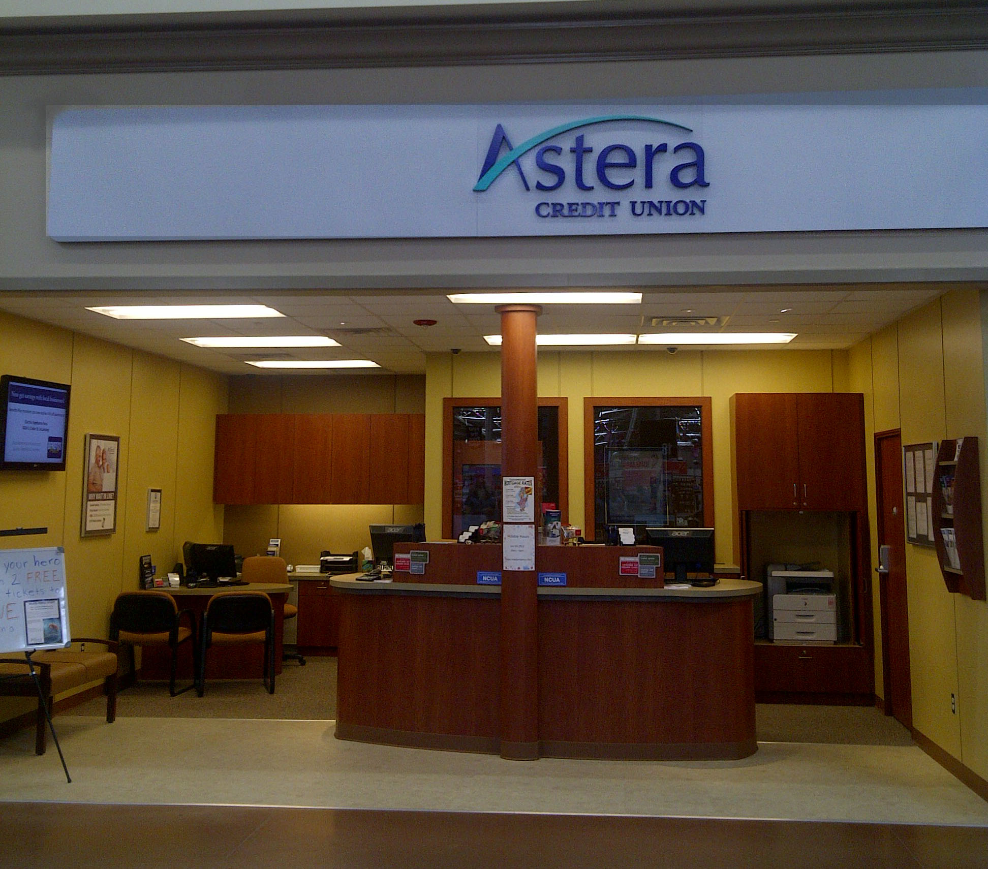 astera credit union 10772 w carson city rd, greenville, mi 48838
