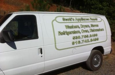 Scott's Appliance Repair - Auburn, CA