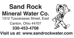 Sand Rock Mineral Water Co. - Canton, OH