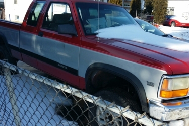 1992 dodge Dakota 4/4 ext. Cab transmission has no reverse