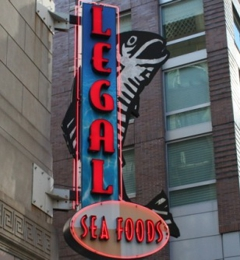 Legal Sea Foods - Boston, MA