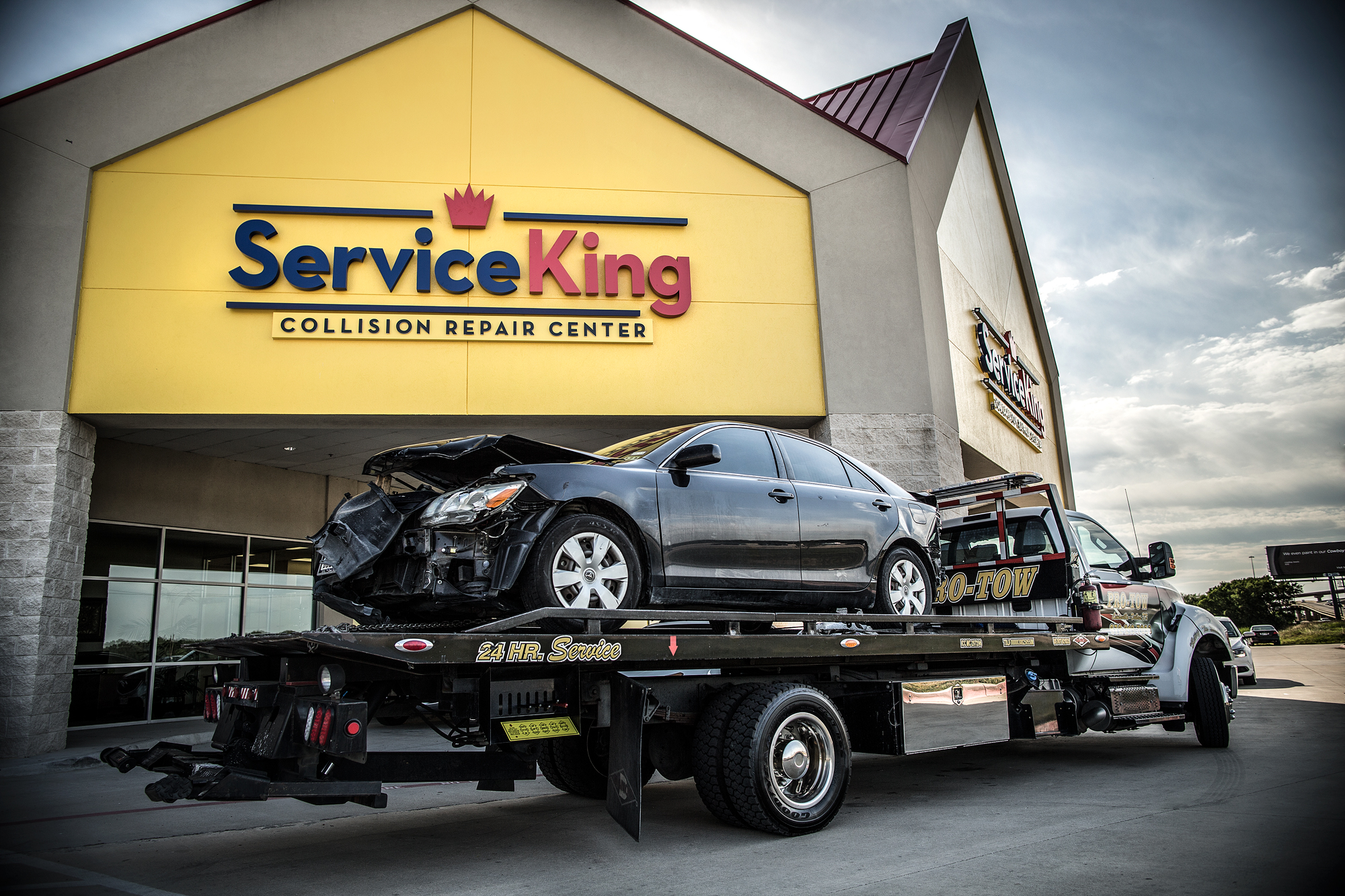 Service King Collision Repair Irving 3910 W Airport Fwy, Irving, TX 75062    YP.com