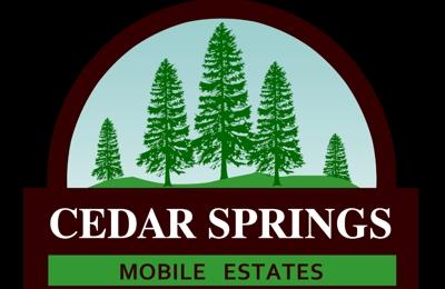 Cedar Springs Mobile Estates - Cedar Springs, MI