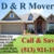 D and R Movers Cincinnati