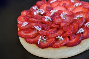 Le Marais Bistro & Bakery strawberry tart
