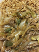 The worse Mongolian beef ever